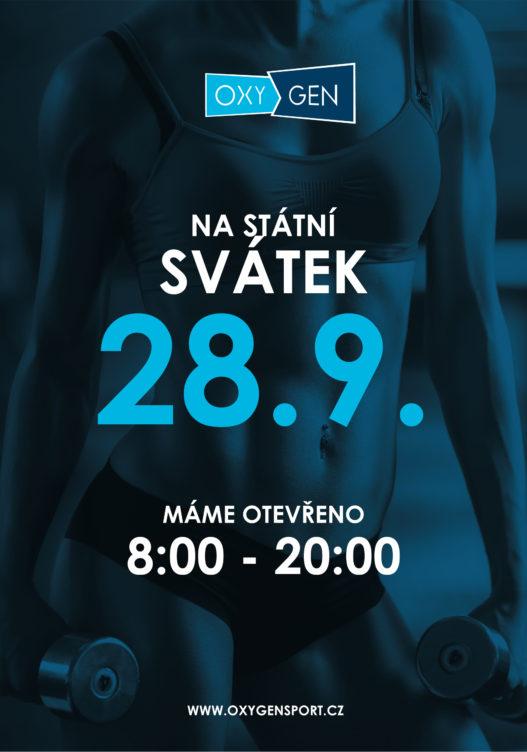 Otevírací doba na státní svátek 28.9.